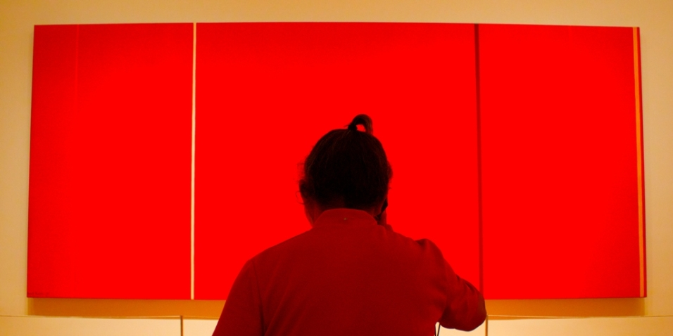 Red on Red, MOMA, NYC